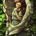 Angel Oriphiel by Babette Van den Berg