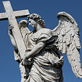 Angel With The Cross by Michael Evans