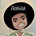 Angela Davis #2 by Deborah Carrie