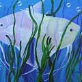 Angelfish Duo by Karen Jane Jones