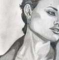 Angelina Jolie by Alban Dizdari