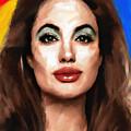 Angelina Jolie  by Vya Artist