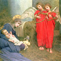 Angels Entertaining the Holy Child by Marianne Stokes