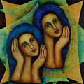Angels In Blue. by Evgenia Davidov