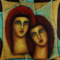 Angels In Red. by Evgenia Davidov