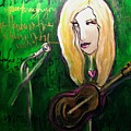Angie Stevens Solo by Laurie Maves ART