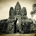 Angkor Thom Southern Gate by Weston Westmoreland
