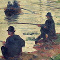 Anglers by Georges Pierre Seurat