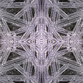 Angles In Ice On Monadnock - A4 by Larry Davis Custom Photography
