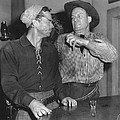 Angry Cowboy In A Bar by Underwood Archives