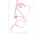 Angry Face - Gesture Drawing by Rod Ismay