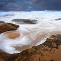 Angry Sea by Mike  Dawson