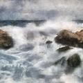 Angry Sea by Russ Harris