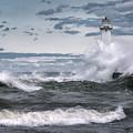 Angry Waters Of Lake Ontario by Scott Reyes