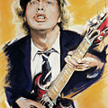 Angus Young by Melanie D