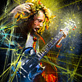 Angus Young by Miki De Goodaboom