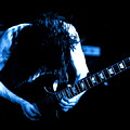 Angus Young On Guitar by Ben Upham