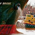 Anichkov Bridge by Kathleen K Parker