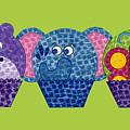 Animal Cupcakes 2 by Emily Kim
