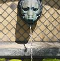 Animal Fountain Head by Teresa Mucha