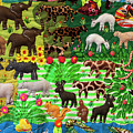 Animal Tapestry by Bob Phillips