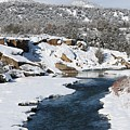 Animas River In January by Terry Bynum