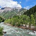 Animas River, Silverton, Colorado by Lon Dittrick