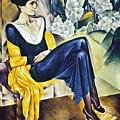 Anna Akhmatova (1889-1967) by Granger