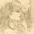 Anna Held by Henri De Toulouse-lautrec