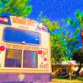 Anna Maria Elementary School Bus C131270 by Rolf Bertram
