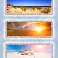 Anna Maria Island Beach Collage by Rolf Bertram