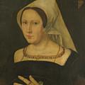 Anna Van Spangen Wife Of Adriaen Van Der Goes by PixBreak Art