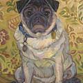 Pug by Jane Oriel