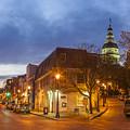 Annapolis Main Street by Richard Nowitz
