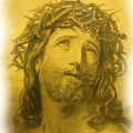 Anne Anastasi Christ Pencil by Jonathan Galente