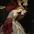 Anne Boleyn In The Tower by Edouard Cibot