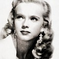 Anne Francis, Vintage Actress By John Springfield by John Springfield