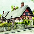 Anne Hathaway Cottage England by Morgan Fitzsimons
