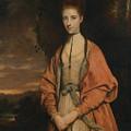 Anne Seymour Damer  by Joshua Reynolds