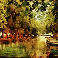 Annecy France Pont Des Amours by Ann Garrett