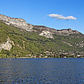Annecy Lake Panorama by Olivier Le Queinec