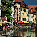 Annecy Medieval Town by Francois Dumas