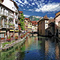 Annecy River View by Anthony Dezenzio