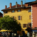 Annecy Town Square by Francois Dumas