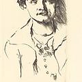 Anneliese Halbe (bildnis Einer Jungen Dame (anneliese Halbe)) by Lovis Corinth