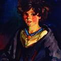 Annie Geg 1925 by Henri Robert
