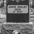 Annie Oakley Grave by John McGraw