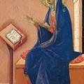 Annunciation Fragment 1311 by Duccio