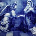 Annunciation by Gaspar Avila