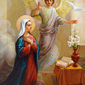 Annunciation To The Blessed Virgin Mary by Svitozar Nenyuk
